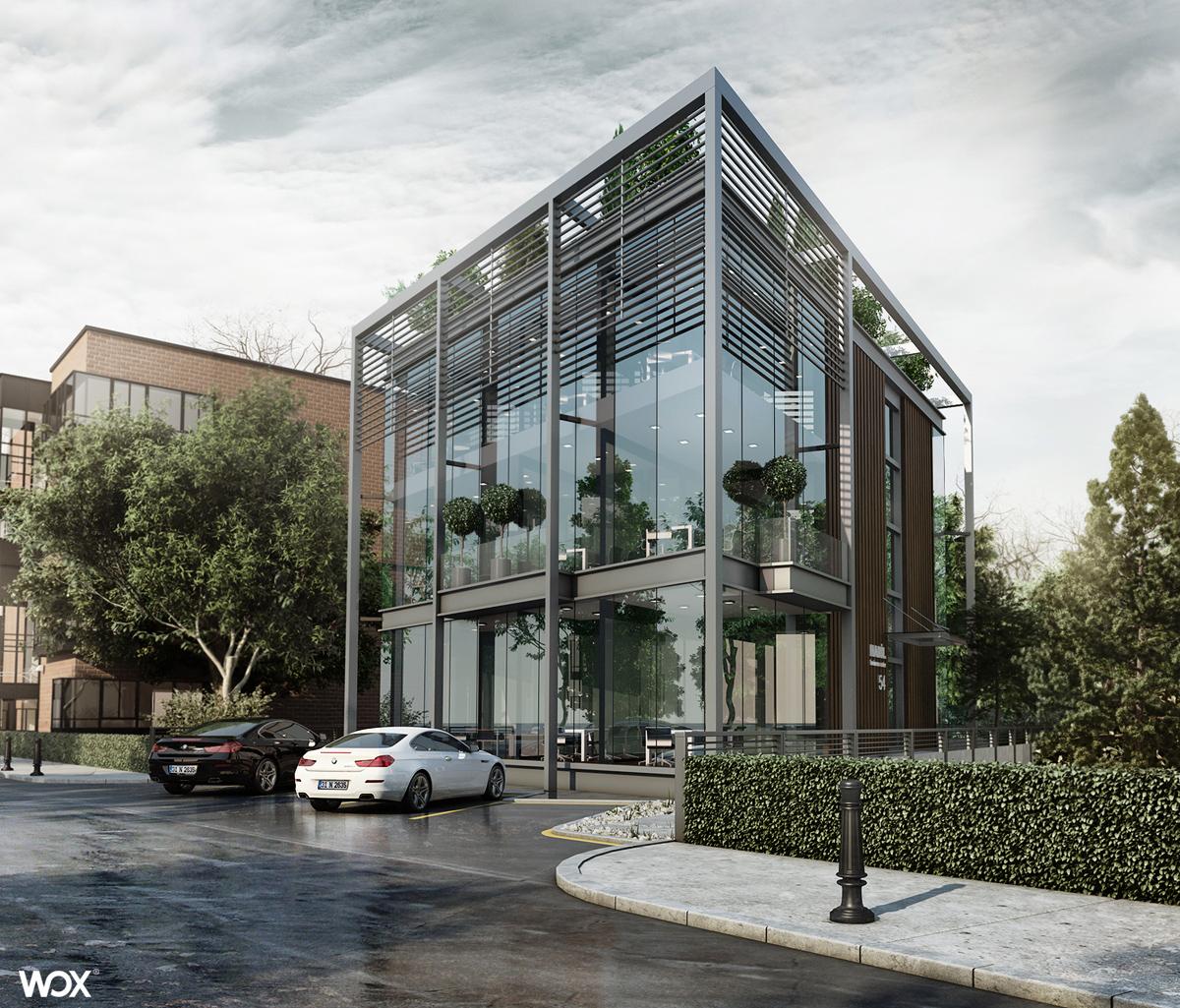 Portfolio wox for 3d building design